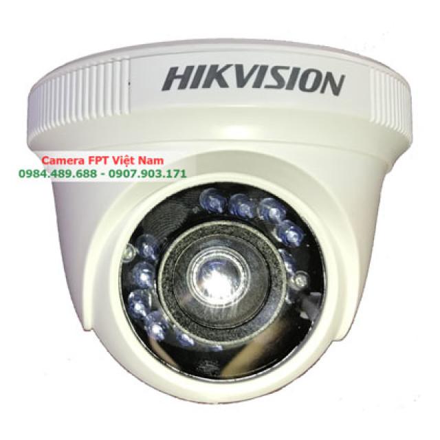 Camera Hikvision Turbo HD 720P Dome hồng ngoại
