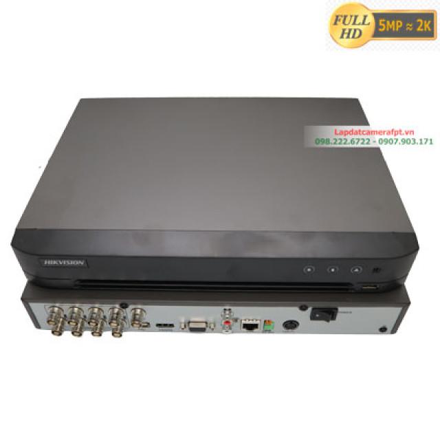 Đầu ghi hình 8 kênh 5MP Hikvision DS-7208HQHI-K1