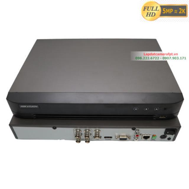 Đầu ghi hình 4 kênh  5Mp  Hikvision DS-7204HQHI-K1(S)