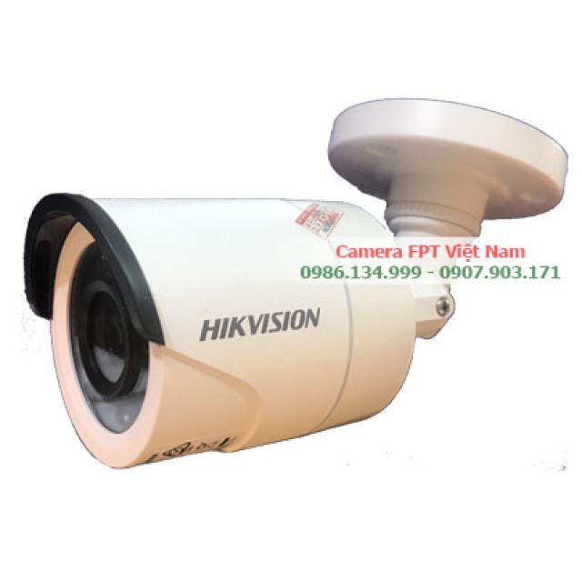 Camera Hikvision Ngoài trời 2MP vỏ thép