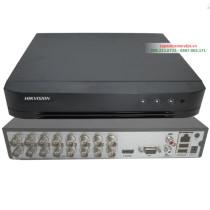 Đầu ghi Hikvision DS-7216HGHI-K2 16 kênh, vỏ sắt, 2 Ổ cứng
