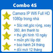 Gói lắp Camera không dây PHỔ THÔNG trong nhà